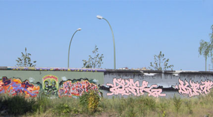 Berliner Mauer an der Eastside Gallery