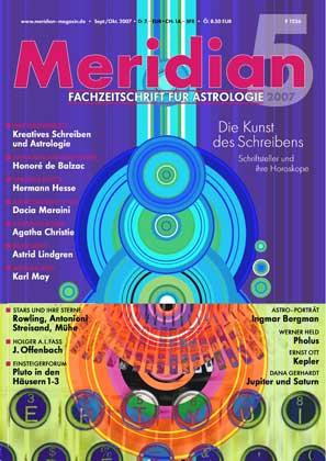 Astrologiezeitschrift Meridian