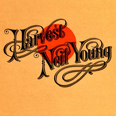 Albumcover Neil Young Harvest