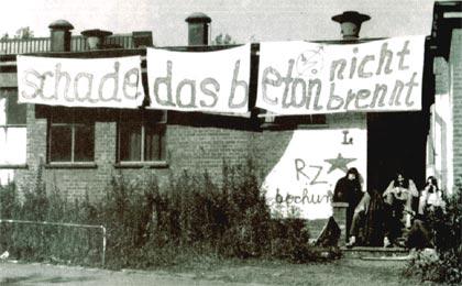 Die besetzte Fabrik in Bochum