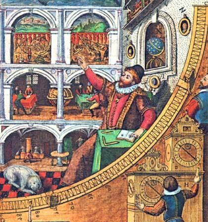 Tycho Brahe Mauerquadrant