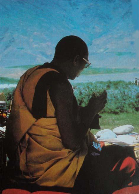 Seine Heiligkeit, der vierzehnte Dalai Lama